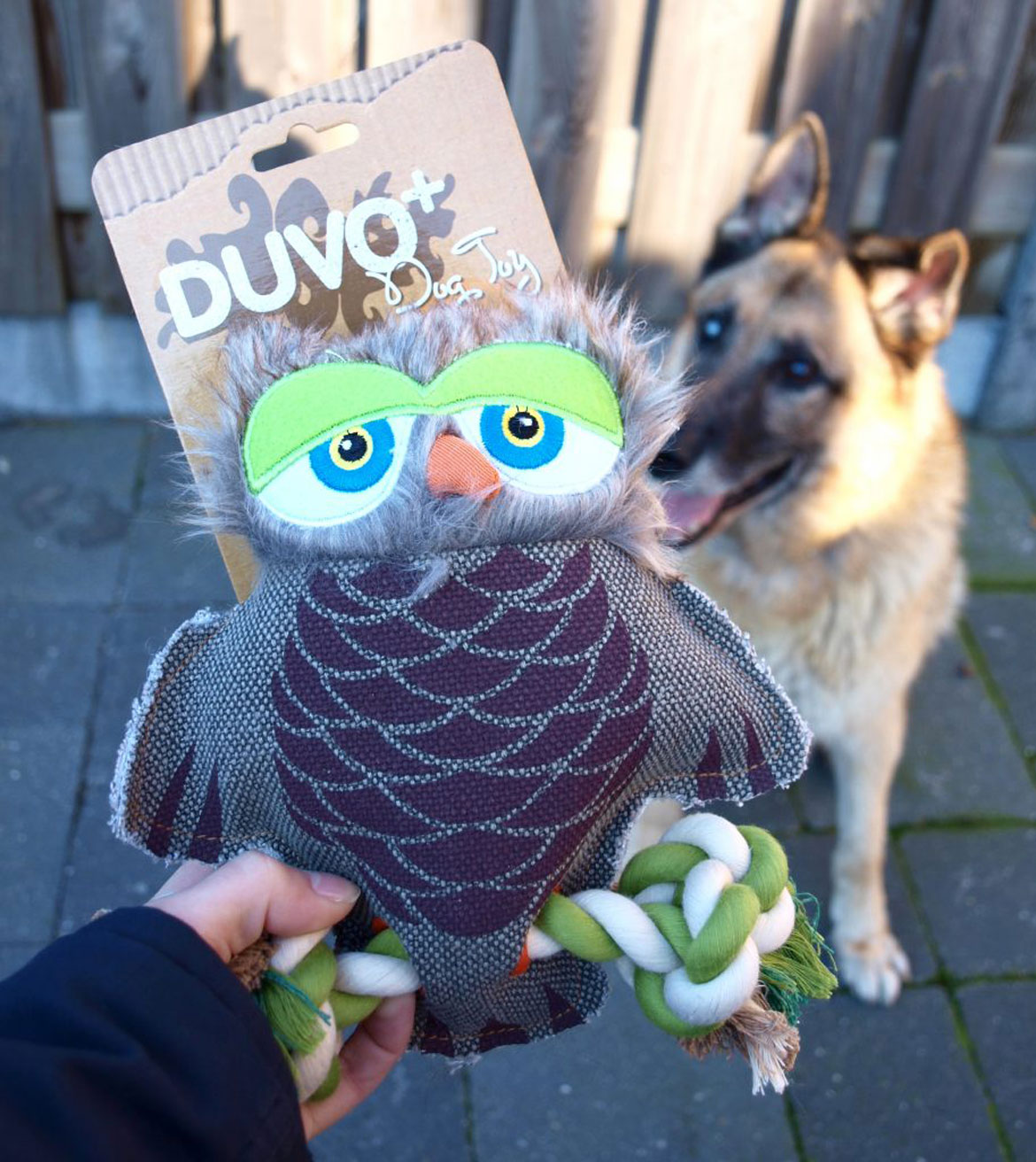 Review: Duvo Dog Toy – Uil